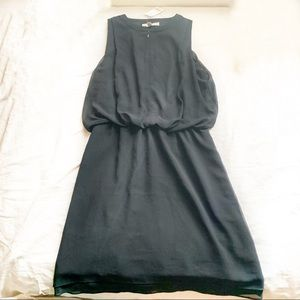 NWT Black Banana Republic Sleeveless Dress Zipper